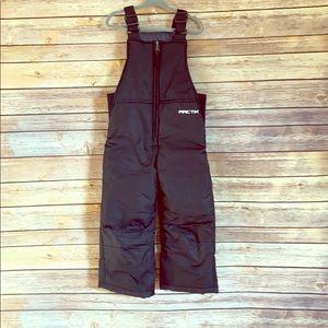 Black snow pants 3T